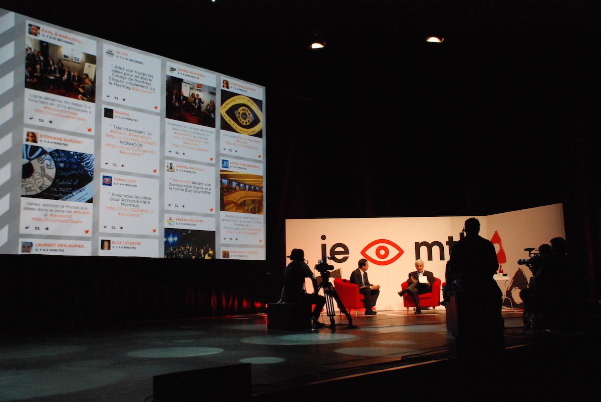 Venue Event Interview Major Screen I SEE MTL