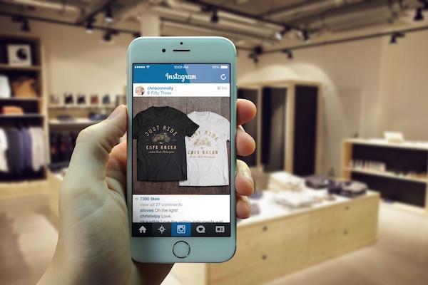 Retail Store Phone Instagram