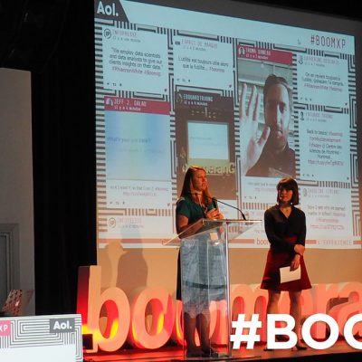 Event Screen Conference #BOOMXP