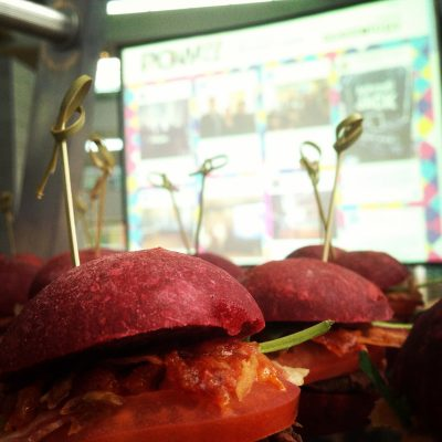 Event Burgers Social Wall Screen